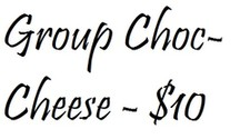 Group - Choc/Cheese