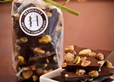 Hedonist Dark Chocolate Ginger Pistachio Bark
