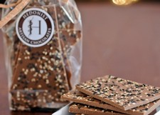 Hedonist Milk Chocolate Sesame Bark
