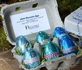 Hedonist Chocolate Easter Egg Carton